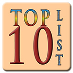 top 10 list graphic